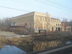 Территория и здание ДК до реконструкции, конец 90-х - начало 2000-х годов